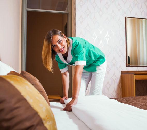 клининг гостиницы